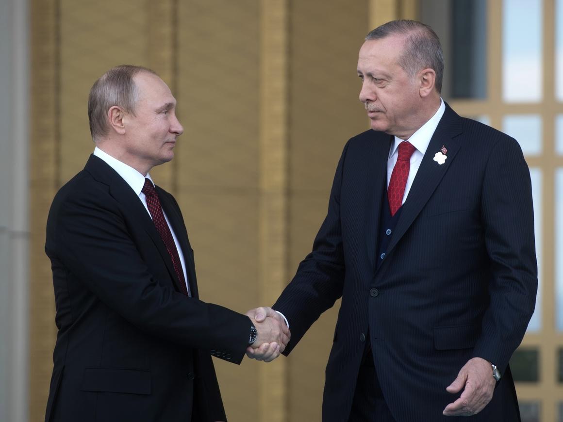 Путин и Эрдоган встретились в Анкаре - итоги