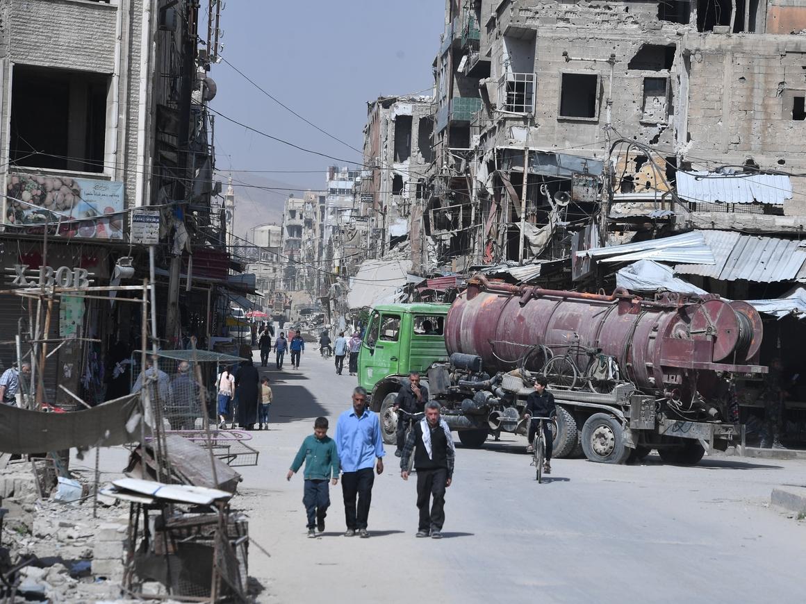 Маленький очевидец рассказал о том, что происходило в Сирии в Думе 7 апреля