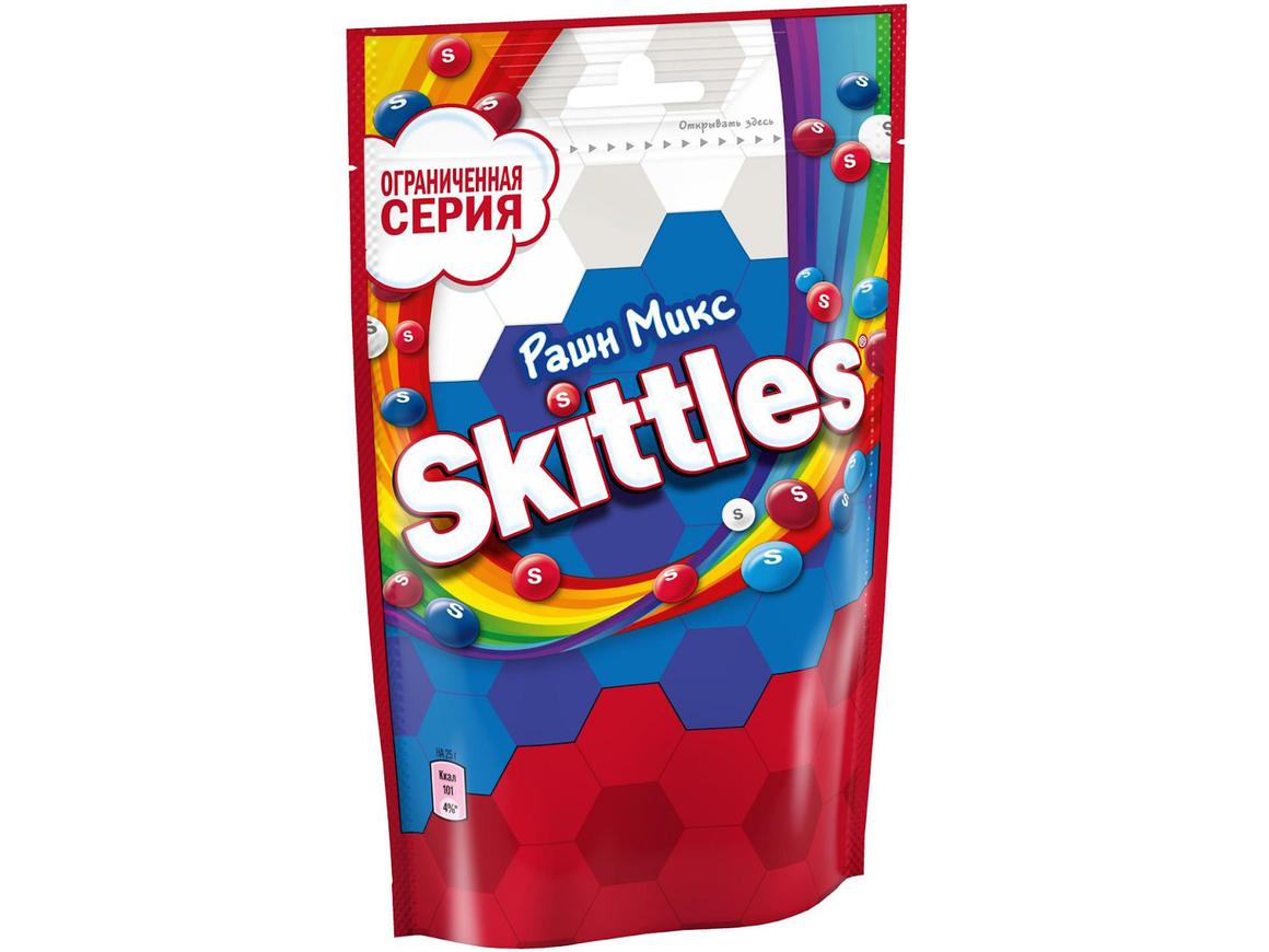 """К ЧМ-2018 выйдет Skittles """"Рашн микс"""". Теперь со вкусом патриотизма"""