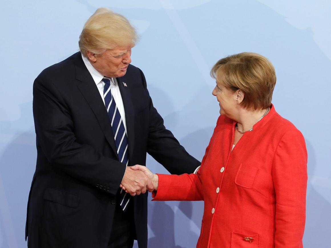 Дональд Трамп и Ангела Меркель встретились в Вашингтоне: что решили по России