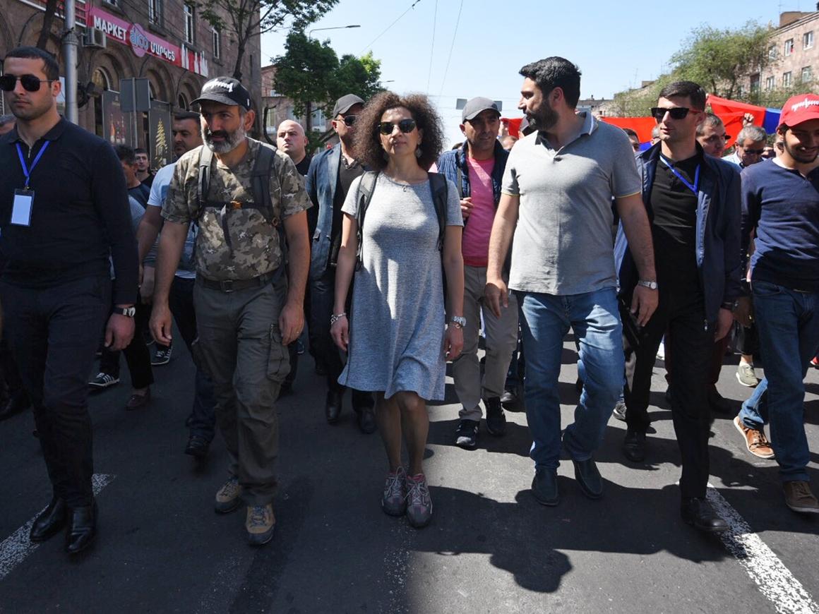 """""""Тотальная акция гражданского неповиновения"""": протесты в Армении 2 мая"""