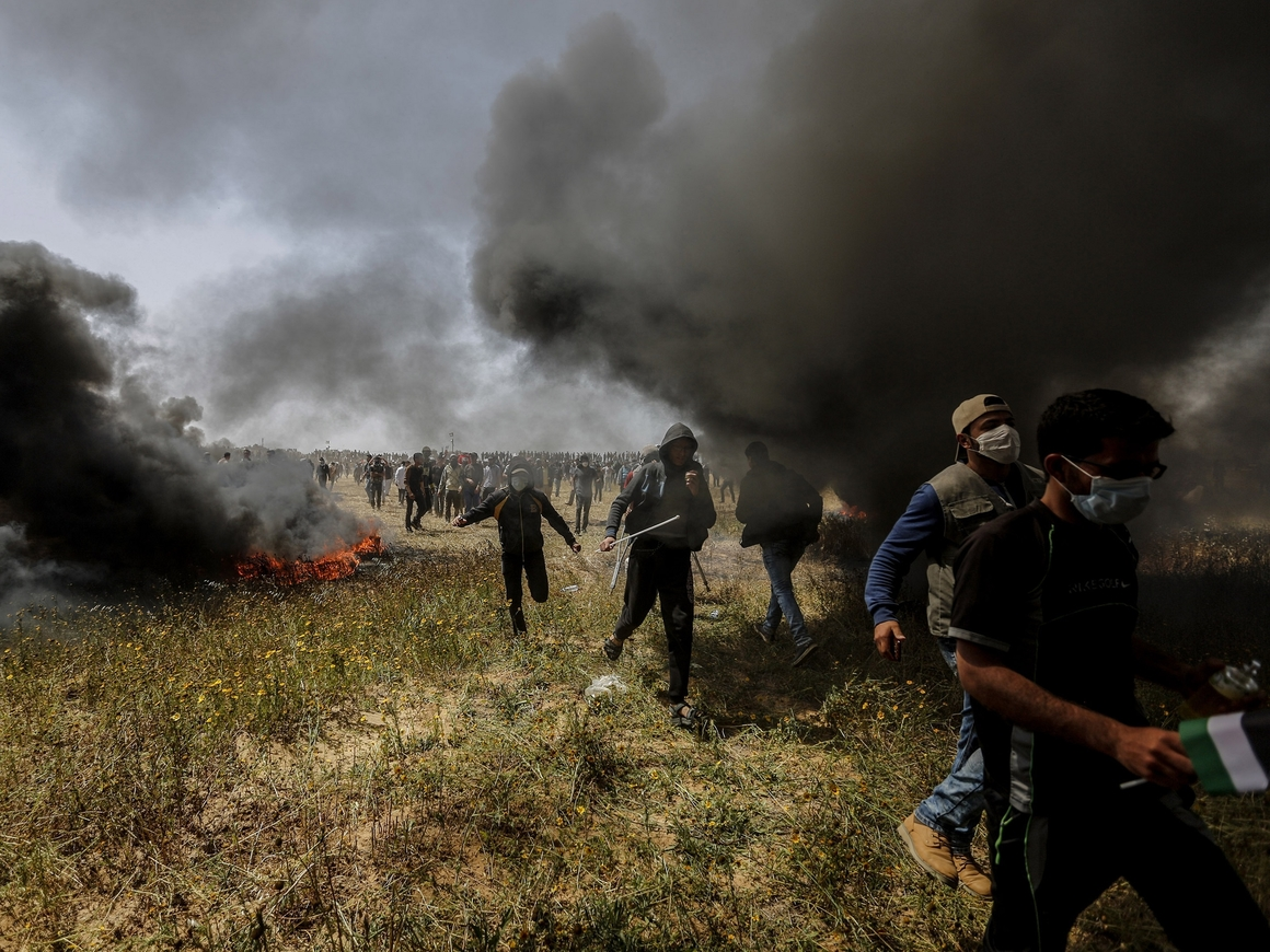 Давид и Голиаф: палестинцы сбили израильский беспилотник из рогатки