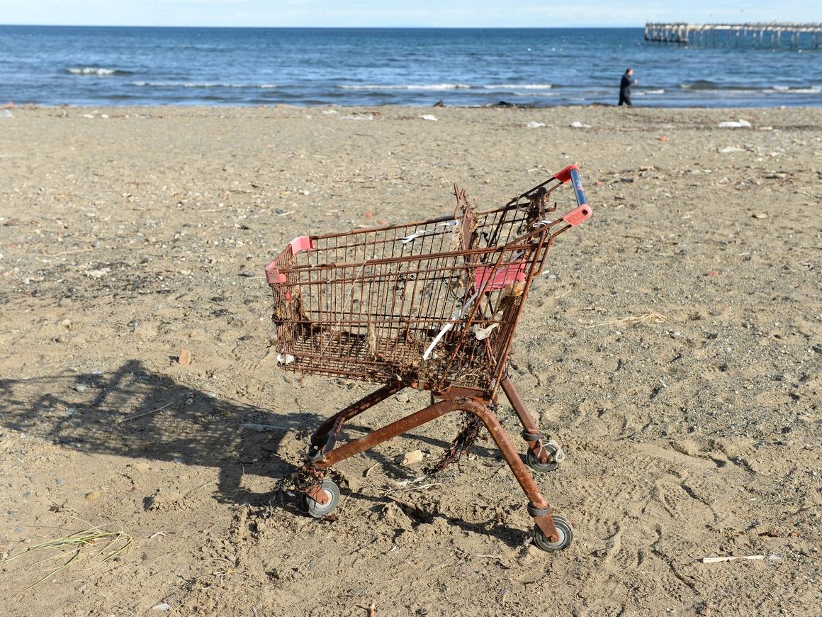 Первый на! - на дне Марианской впадины впервые нашли пластиковый пакет