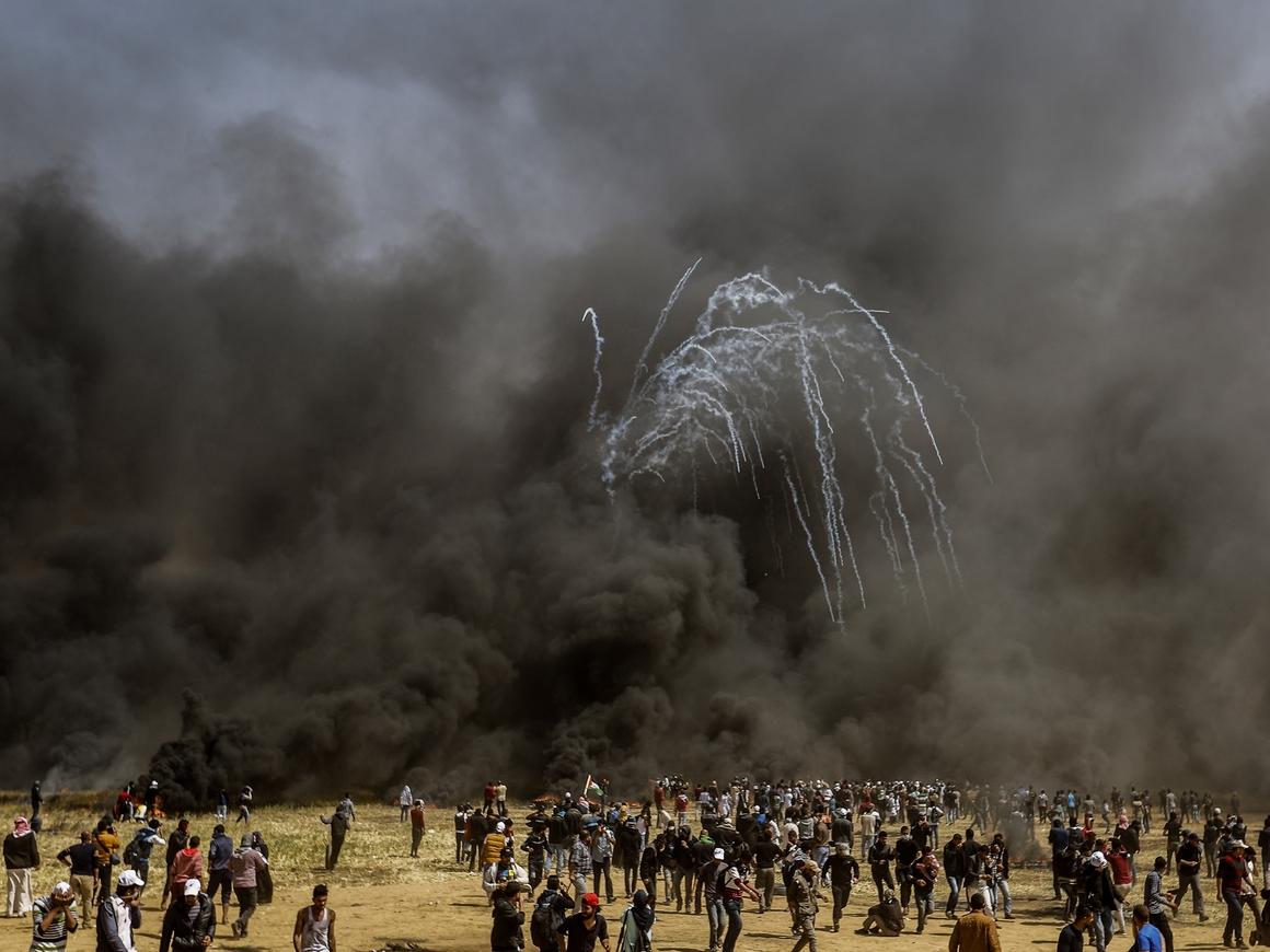 Израиль убил 41 и ранил 1700 в Газе, пока в Иерусалиме открывали посольство США