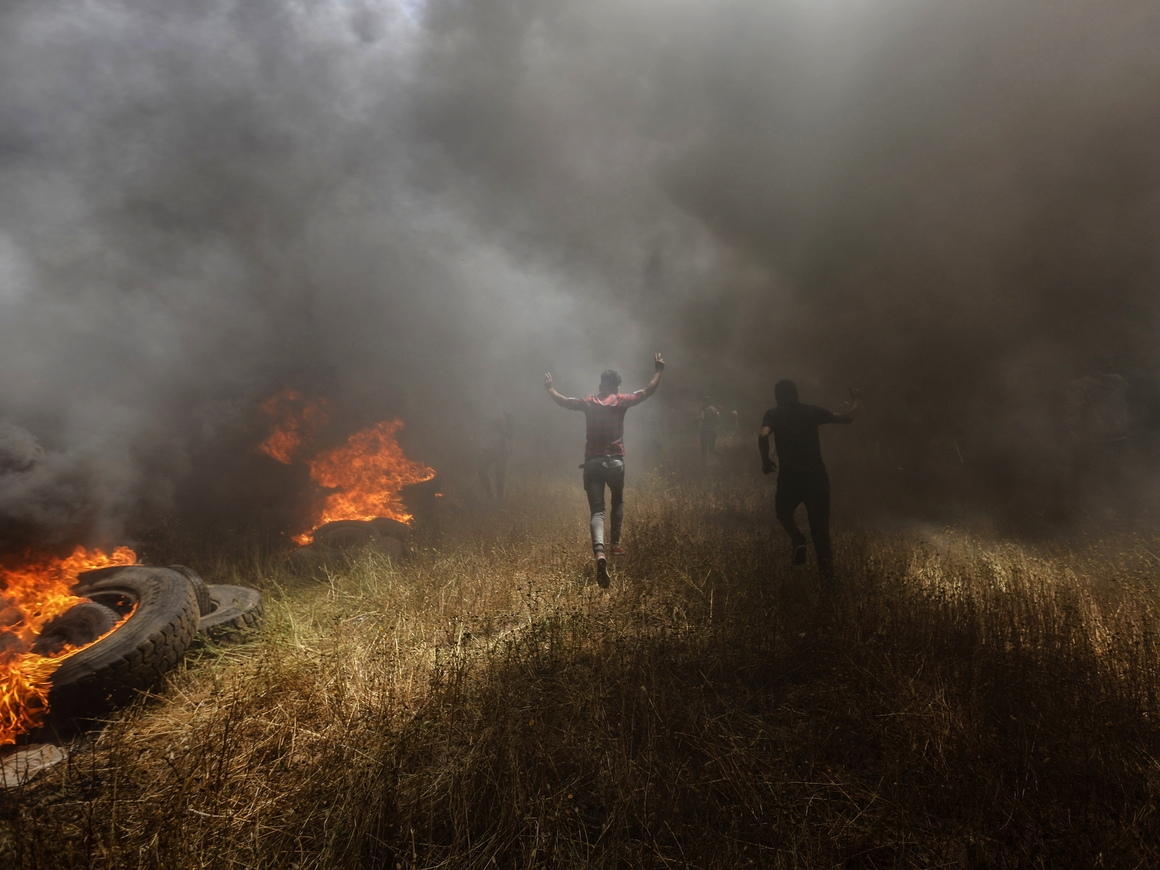 """Во время """"кровавого понедельника"""" израильская армия ранила около 10 журналистов"""