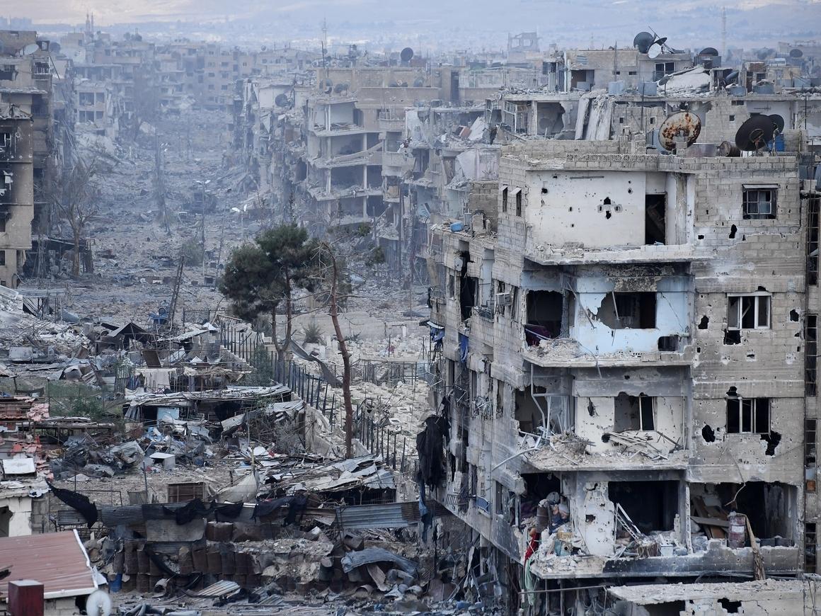 Сирия: боевики ушли и оставили после себя НАТОвское оружие