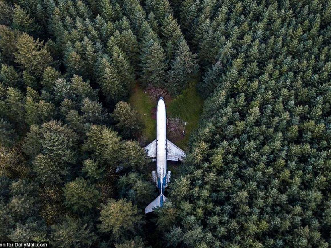 Пенсионер из США купил Boeing 727, переделал его в дом и живёт счастливо