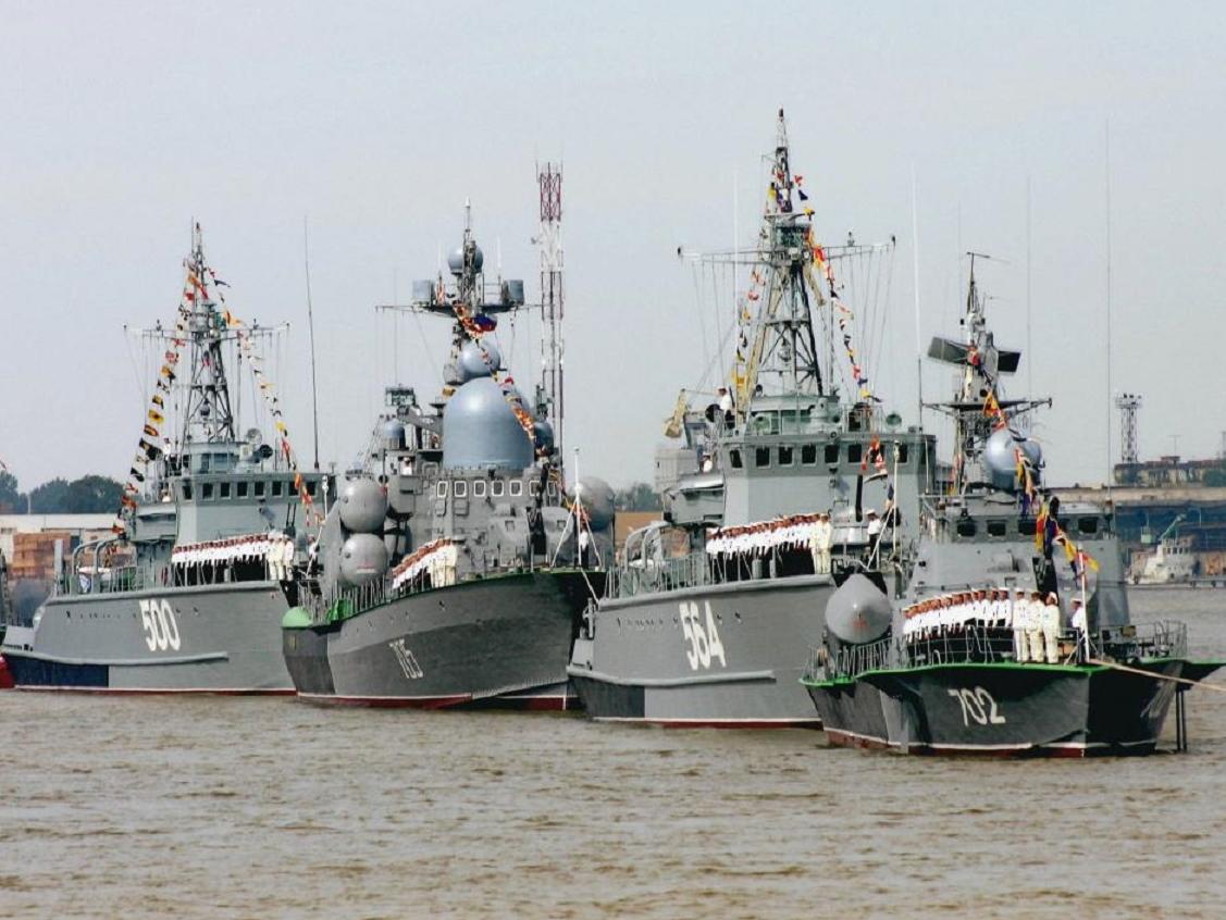 Проект новой базы Каспийского флота РФ обойдётся в 459 млн рублей