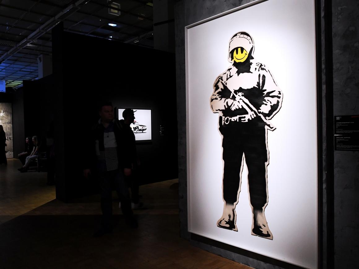 В Москву впервые привезли Banksy! (Видео)