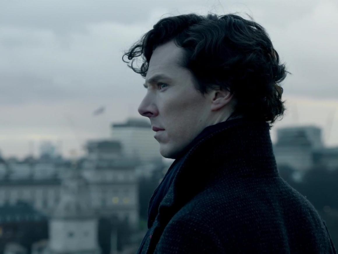 Шерлок Холмс спас курьера от бандитов на Бейкер-стрит. То есть, Камбербетч