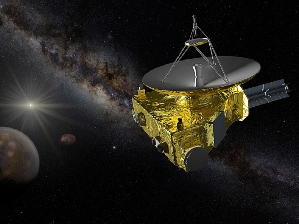 """Улетел в космос, но и там разбудили: """"проснулся"""" зонд НАСА New Horizons"""