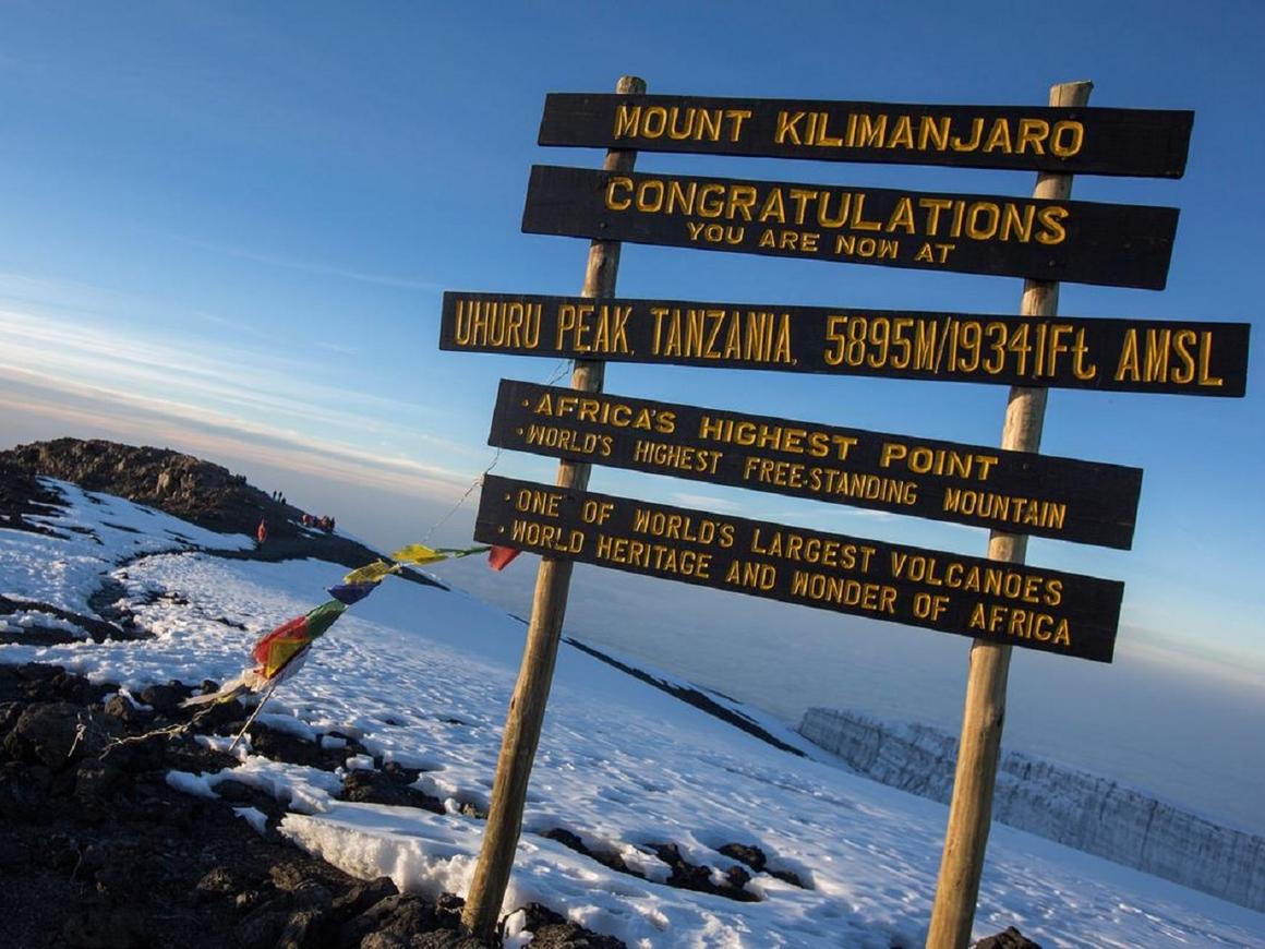 7-летняя девочка в память о своём отце покорила Килиманджаро