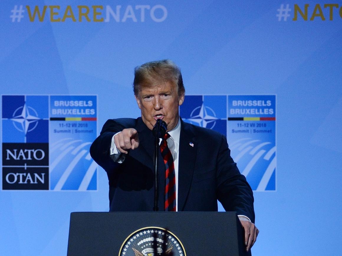 В НАТО хотели саммит, но приехал Трамп и всё испортил. Вот что случилось