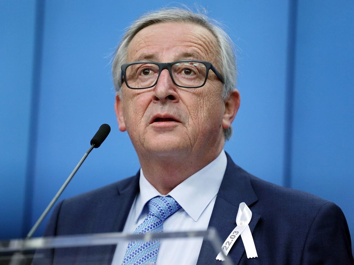 Поцелуи Юнкера: США решили, что торговую войну с ЕС начинать не стоит