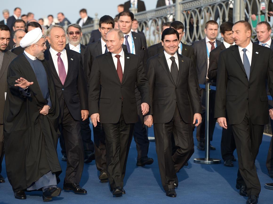 """""""Эпохальное событие"""" - пять стран разделили Каспий"""