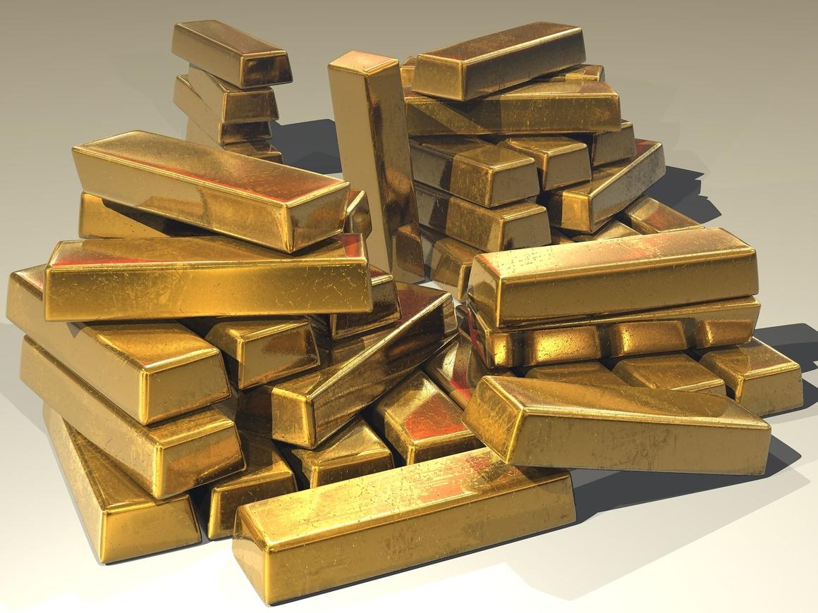 Мама и сын годами продавали немецкому банку слитки золота - фальшивого с Ebay