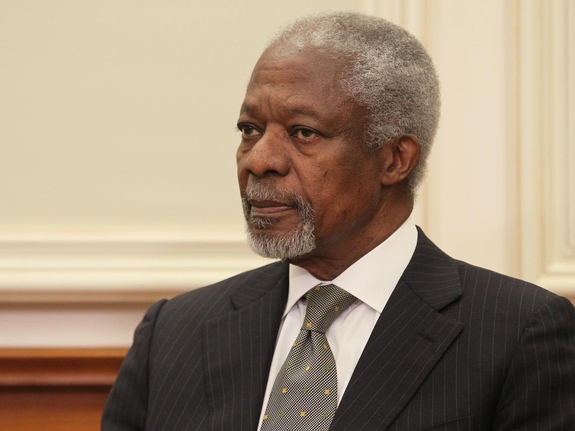 Умер экс-генсек ООН Кофи Аннан. Что он сделал для мира
