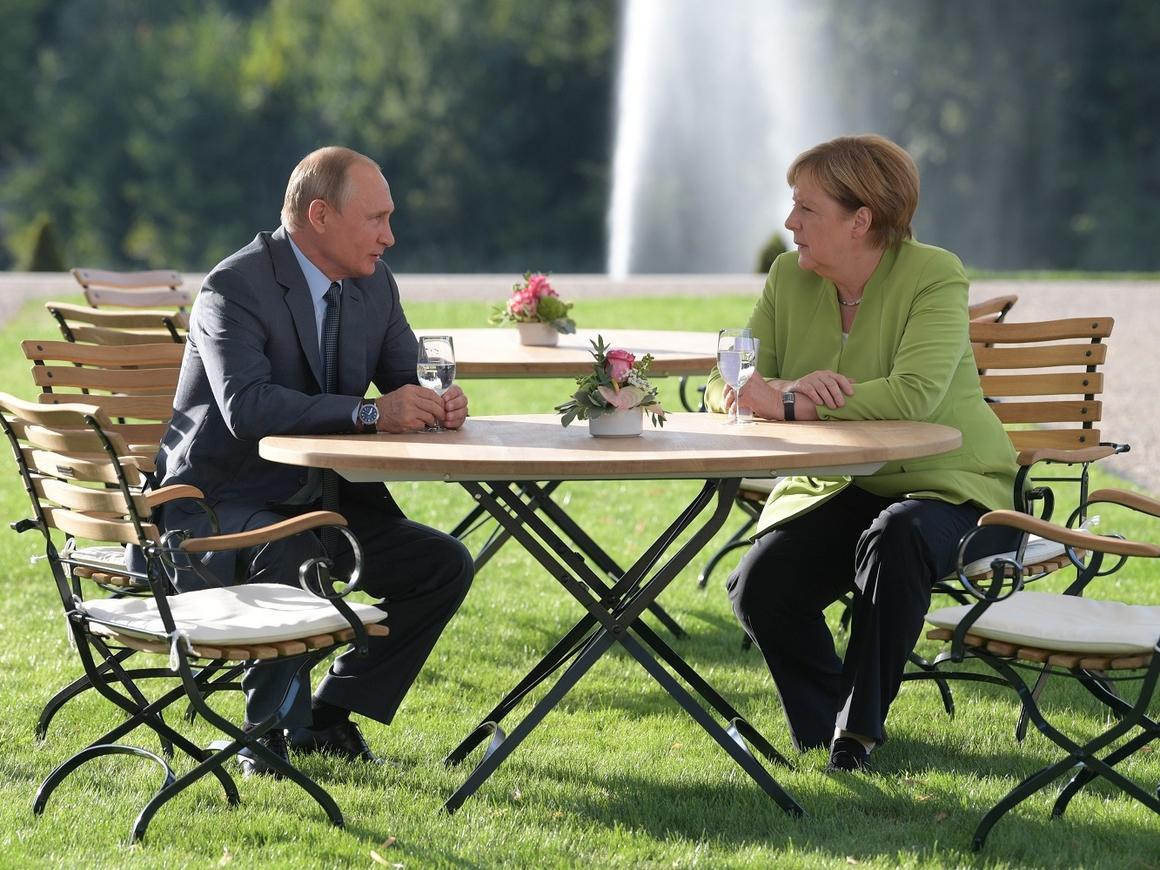 Путин и Меркель в Мезеберге – о чём говорили лидеры России и Германии