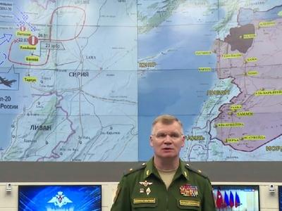 """Крушение Ил-20 в Сирии: Минобороны РФ официально обвинило Израиль в """"халатности"""""""