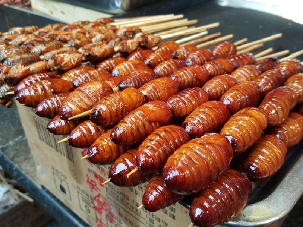Нямки-нямки! - Вместе с населением планеты растёт популярность блюд из насекомых