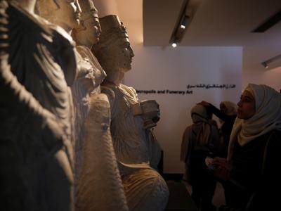 Музей Дамаска открыли для посетителей спустя 7 лет после начала войны