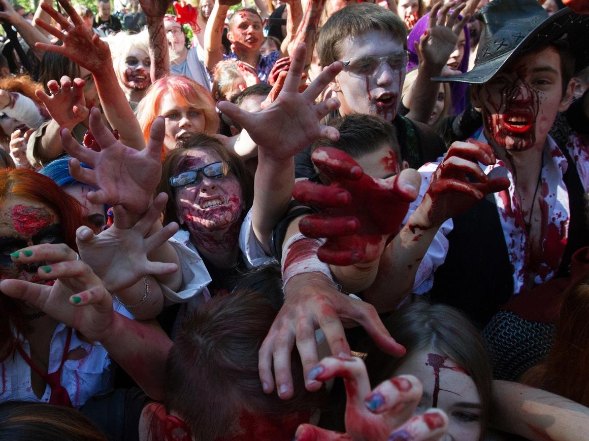 """Ходячие мертвецы: Нашествие """"зомби"""" угрожает росту экономики"""