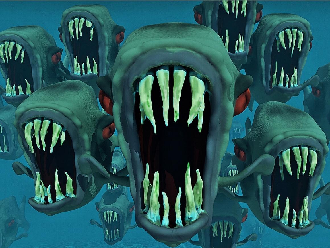 То ли рыба, то ли чудовище: новые жуткие существа от рыбака из Мурманска (фото)