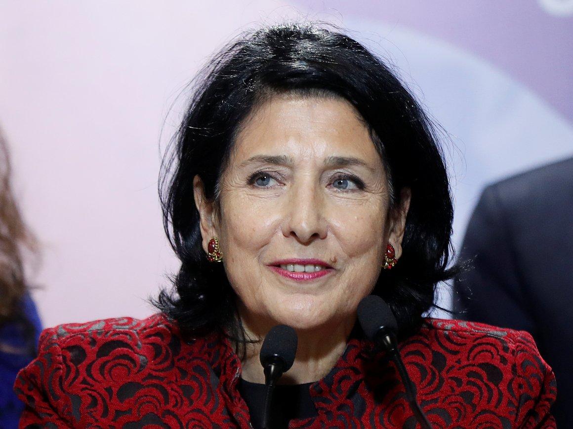 В Грузии новый президент. Впервые в истории им стала женщина