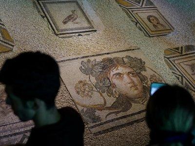 Цыганочка из мозаики вернулась в Турцию (видео)