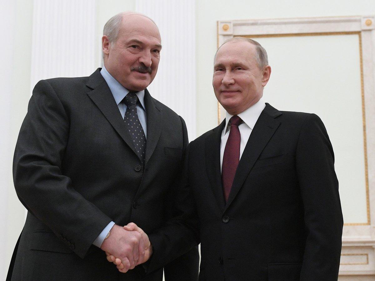Предновогодние встречи Путина и Лукашенко: важные вопросы и картоха