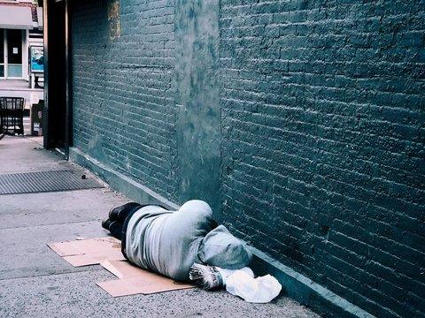 В Британии тысячи людей не имеют крова: всё больше людей ночуют на улице