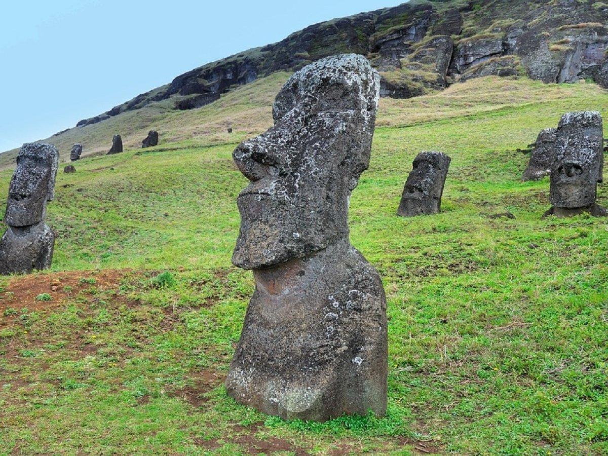 Головы на острове Пасхи стоят там не просто так
