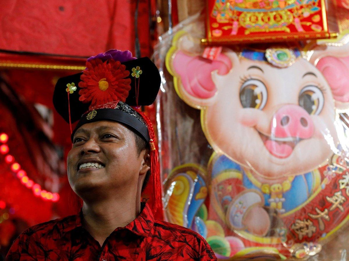 Китайский Новый год на носу, почему он принадлежит свинье?
