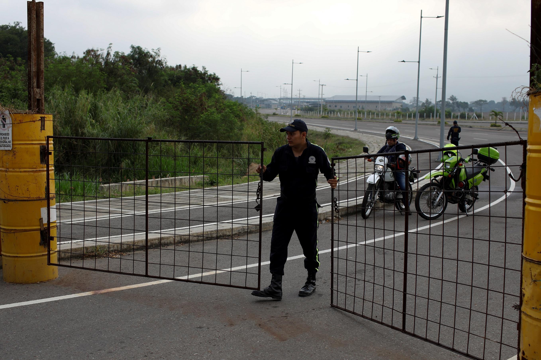 Закрытие моста Тиендитас