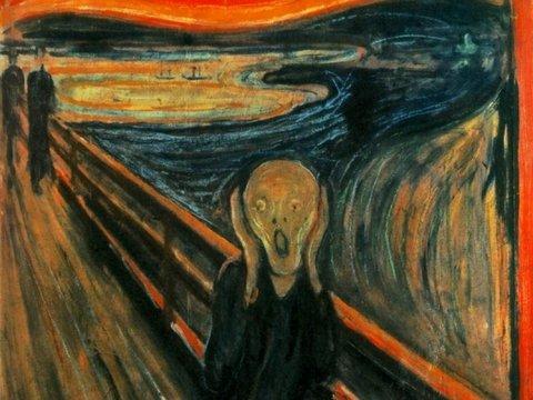 Думаете, человек на картине Мунка кричит? Искусствоведы говорят, что это не так