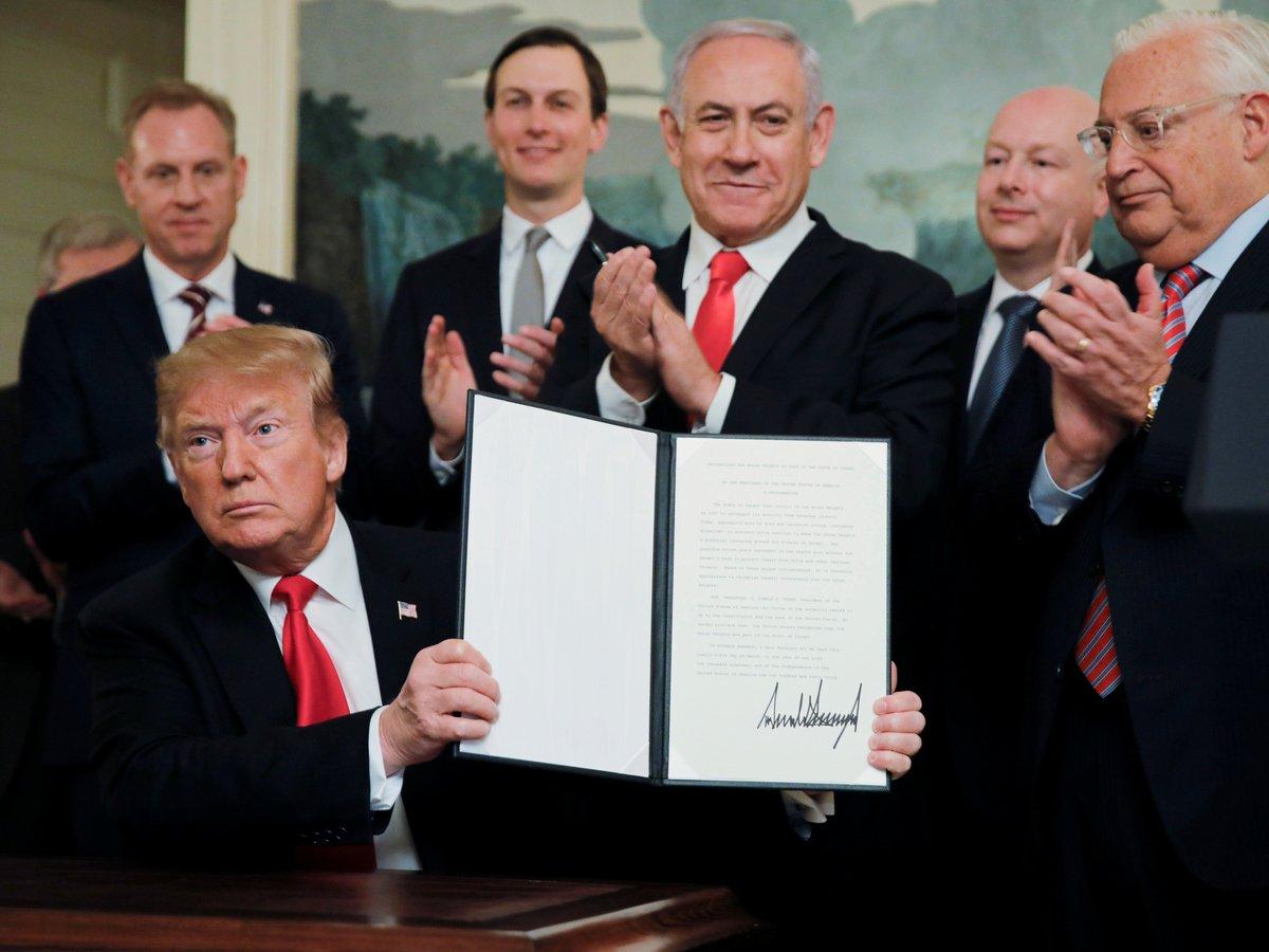 Дональд Трамп признал Голанские высоты израильскими. Почему это важно?