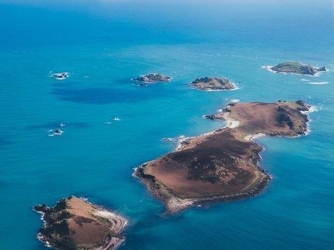 Китайский остров губит природу. Зона поражения больше его площади в 200 раз