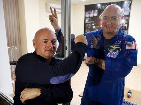 Эксперимент на близнецах: что происходит с человеческим телом за год в космосе?