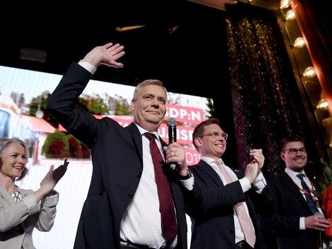 Финские социал-демократы уже празднуют победу на выборах, а ультраправые грустят
