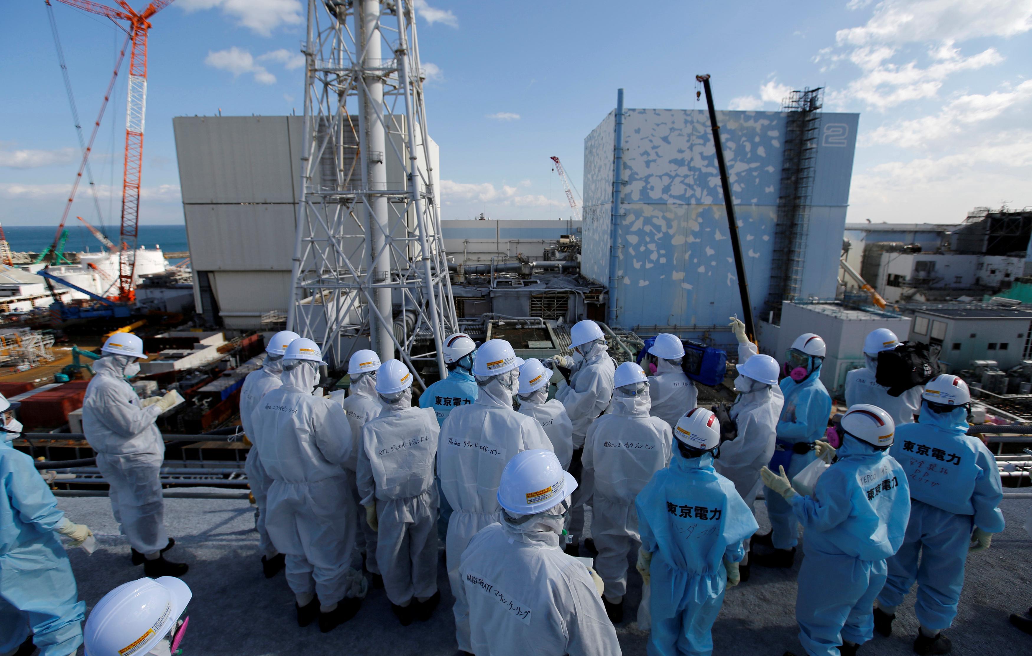 Начало работ на Фукусиме-1