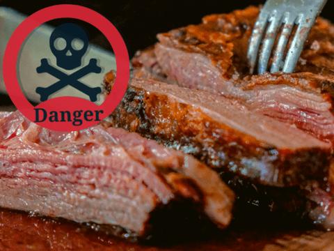 Поосторожнее с красным мясом — оно может вас убить (пить алкоголь тоже не стоит)