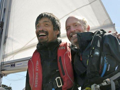 Слепой капитан завершил первое в мире безостановочное плавание через Тихий Океан