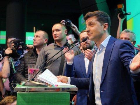 На Украине новый президент — Владимир Зеленский