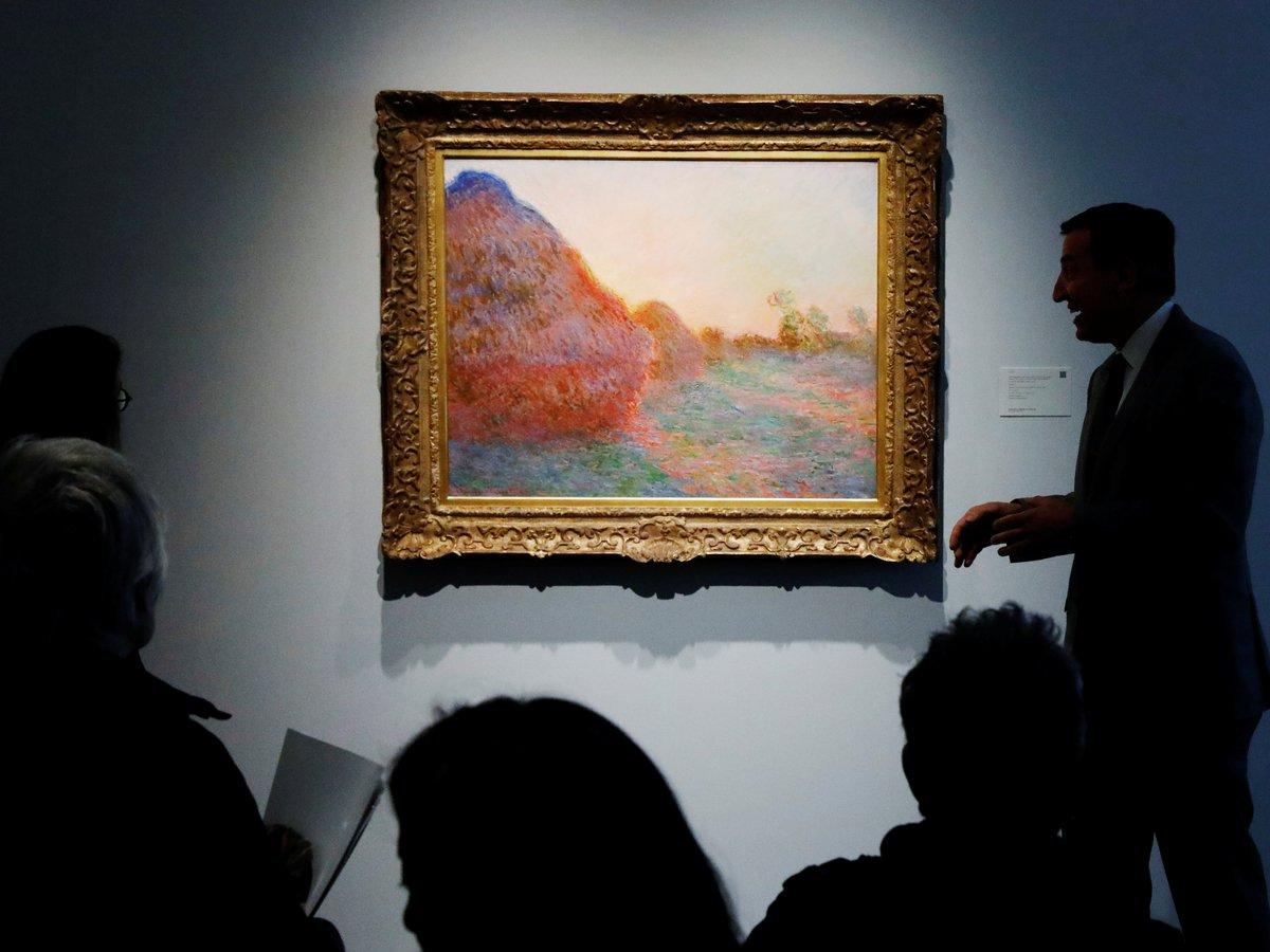 $100 миллионов за стог сена: картину Моне продали за рекордную сумму