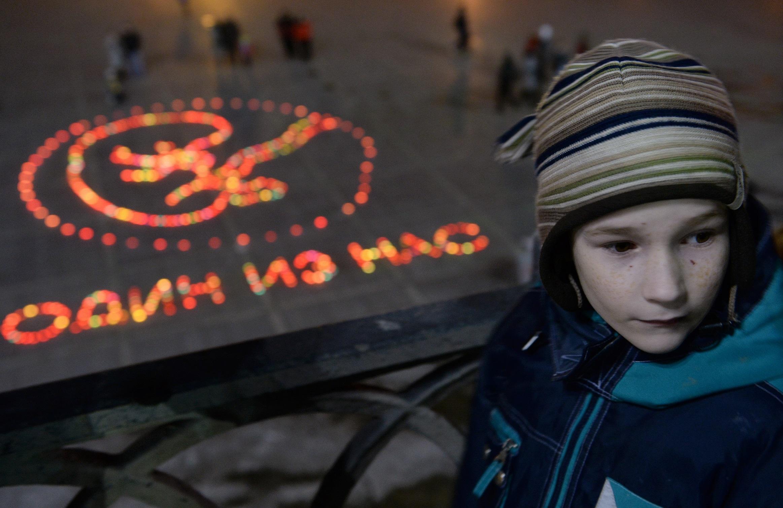Акция против абортов в Екатеринбурге