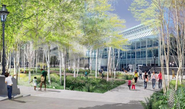 так планируют озеленить округ Gare de Lyon