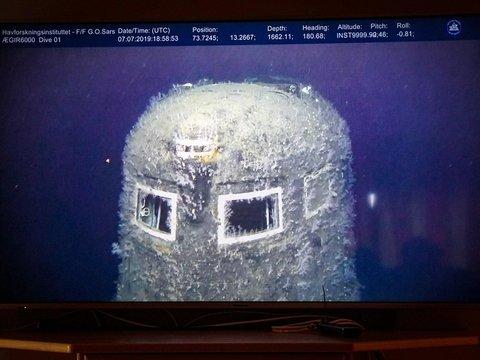 Затонувшая советская подлодка источает радиацию в 100 000 раз больше нормы