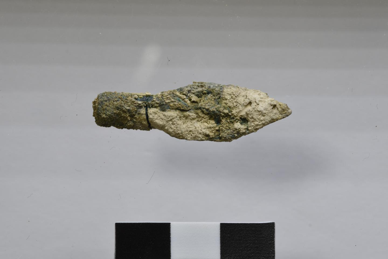 наконечник стрелы, раскопанный на Храмовой горе