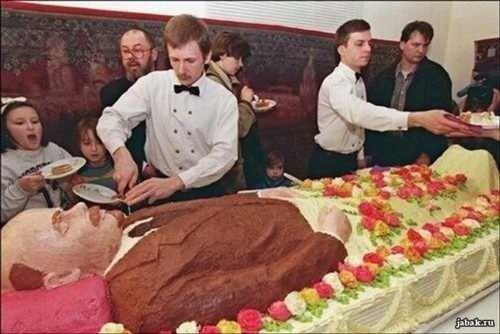 Ленин - не гриб, а торт