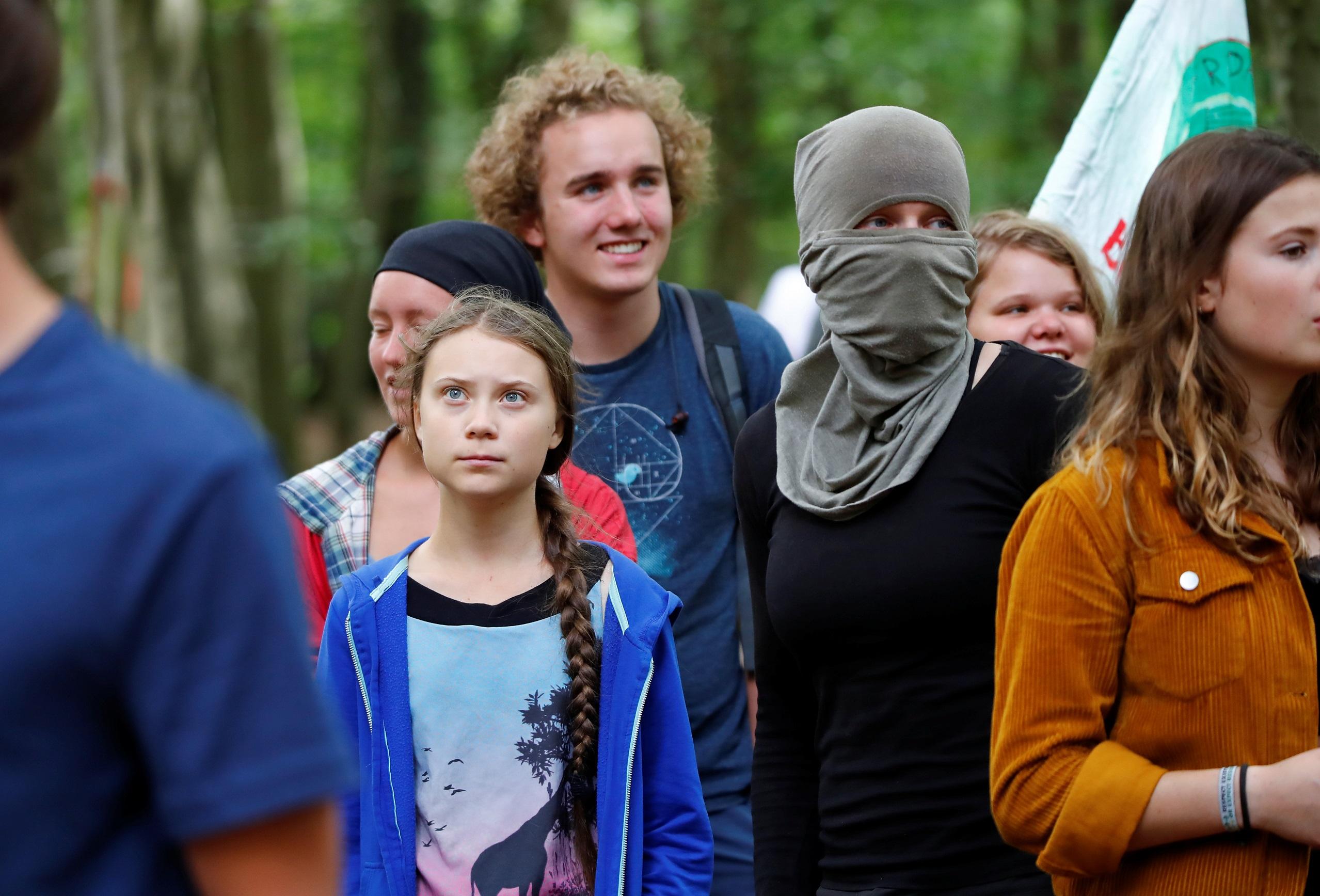 Святая Грета и молодые экоактивисты